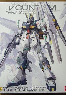 MG 1/100 RX-93 νガンダム Ver.Ka