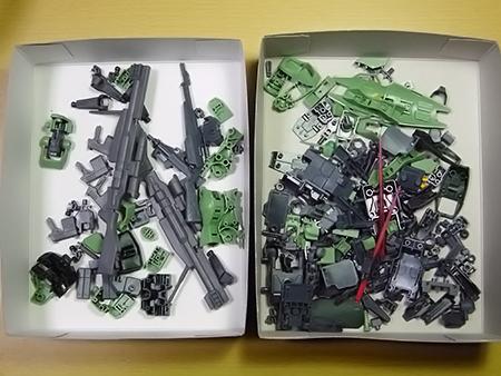 HGBF 1/144 ジムスナイパーK9 & K9ドッグパック