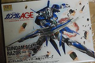 HG 1/144 AGE-1R ガンダムAGE-1 レイザー