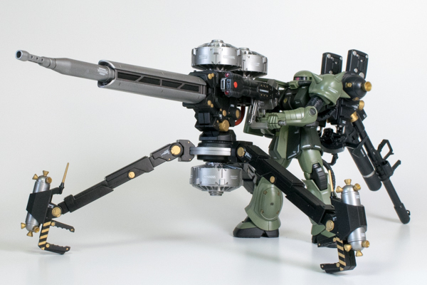 HG 1/144 MS-06 ザク�U+ビッグガン サンダーボルト版